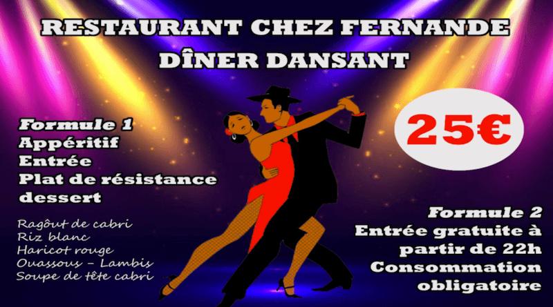 Restaurant chez FERNAND - DINER DANSANT