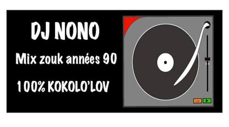 Zouk mix années 1990 Dj NONO - Mix zouk